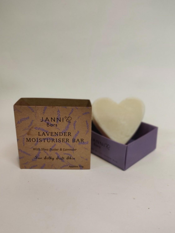 Janni Bars Lavender Moisturising body bar