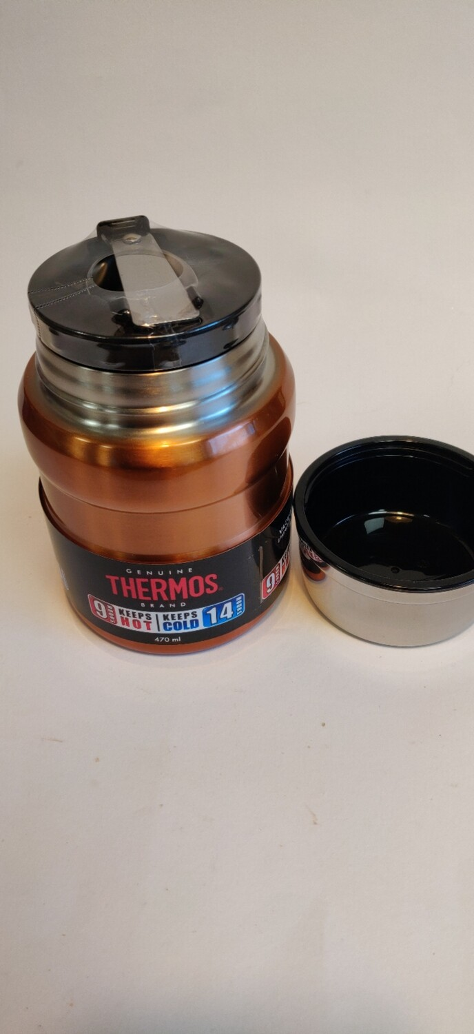 Thermos Food Pot with Stainless Steel Spoon 470ml