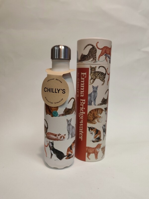 Chillys Cat Bottle 500ml