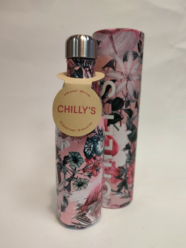 Chillys Flamingo Bottle 500ml