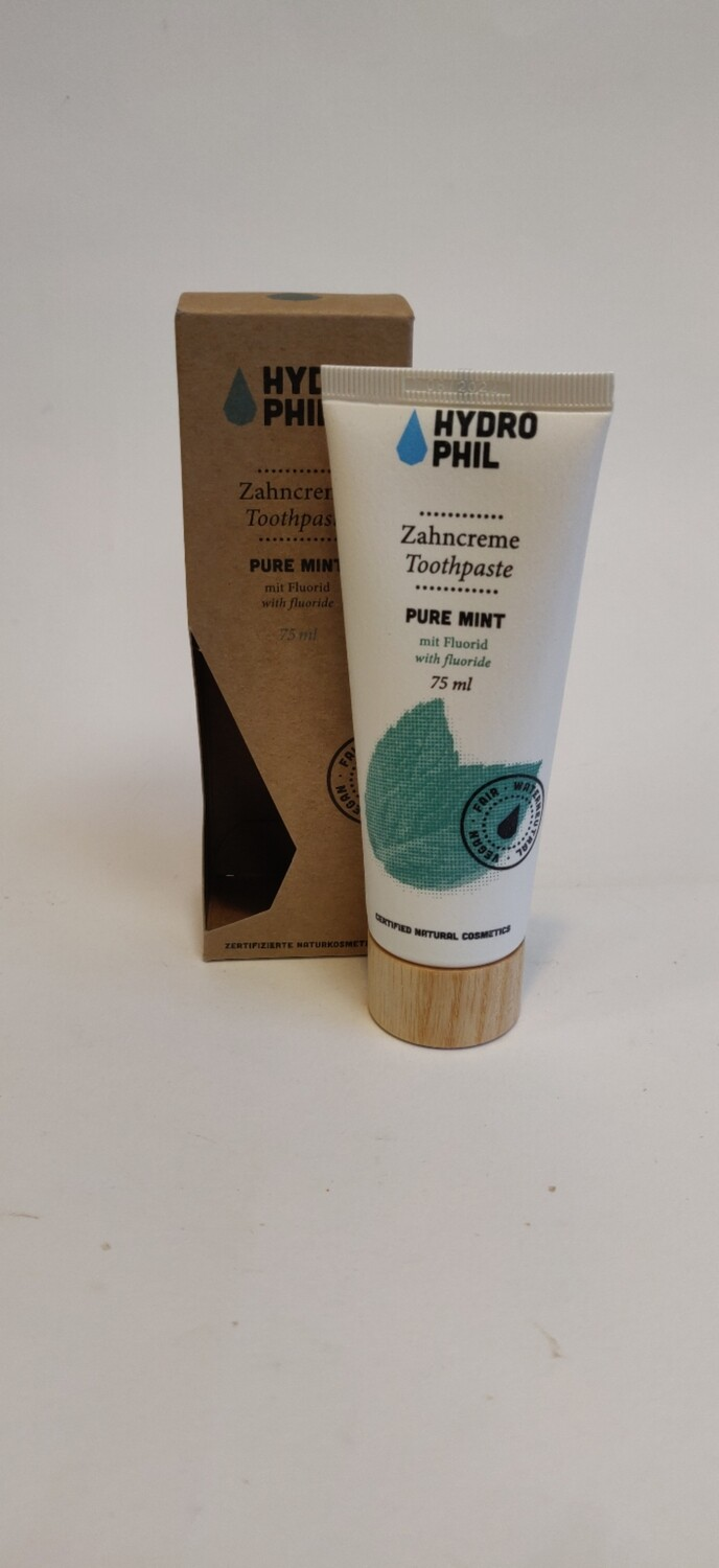 Hydro phil Pure mint Toothpaste with Flouride 75ml