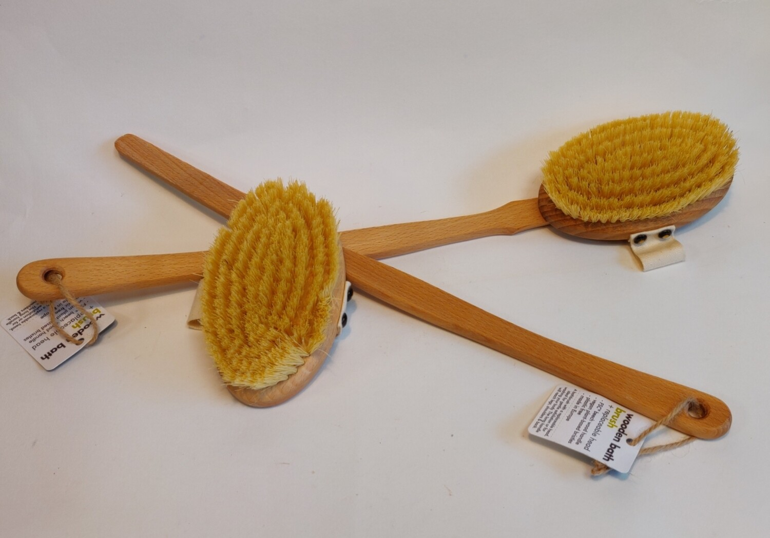 Ecoliving Bath Brush with Detachable Head