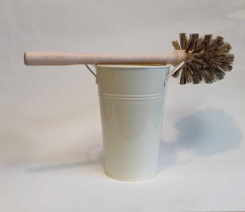 Ecoliving Large Toilet brush and bucket