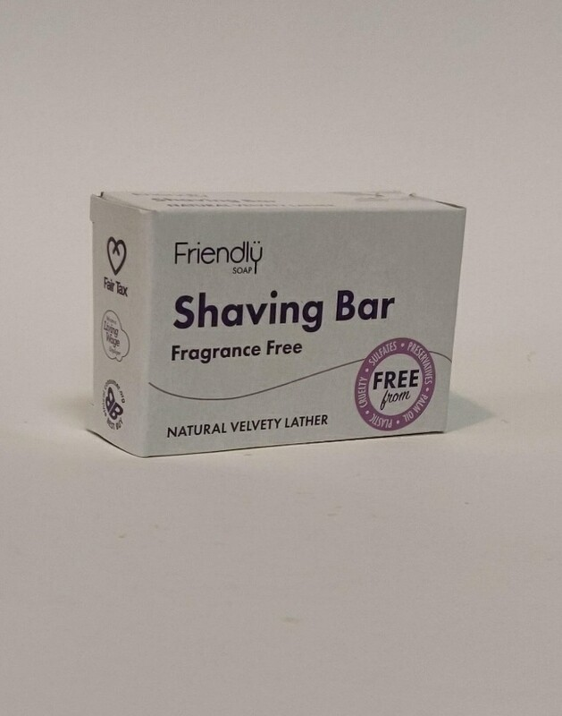 Friendly soap Shaving bar Fragrance free