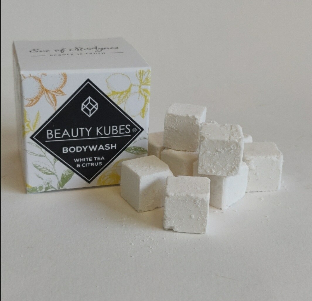 Beauty Kubes body wash White Tea and Citrus