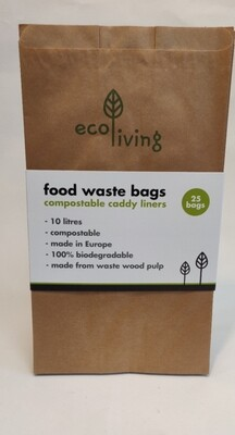 SPECIAL OFFER!!!!Ecoliving Food Waste Bags 25 bags