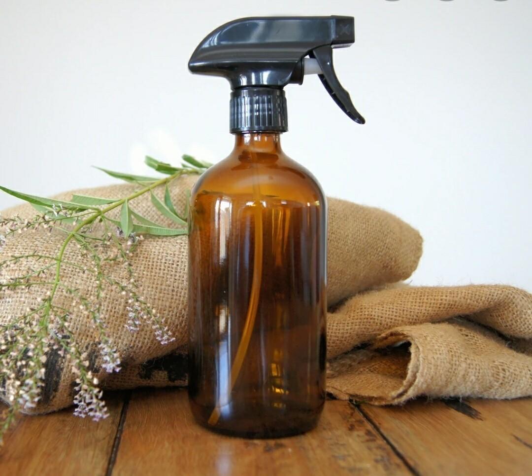 Amber Glass Trigger bottles 500ml