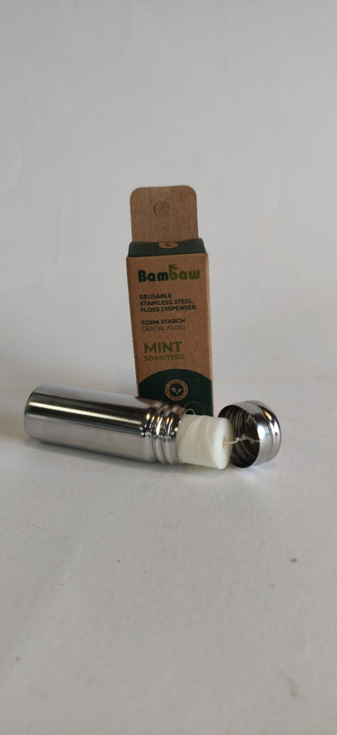 Bambaw Stainless Steel Floss Dispenser