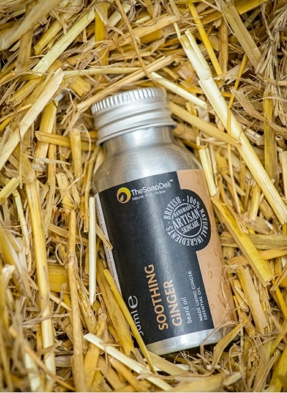 The Soap Deli Soothing Ginger Beard Oil