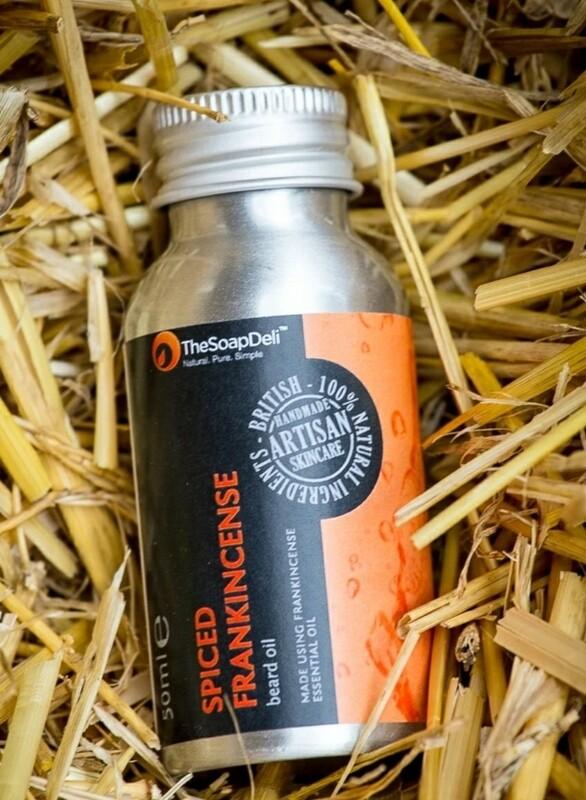 The Soap Deli Frankincense Beard Oil