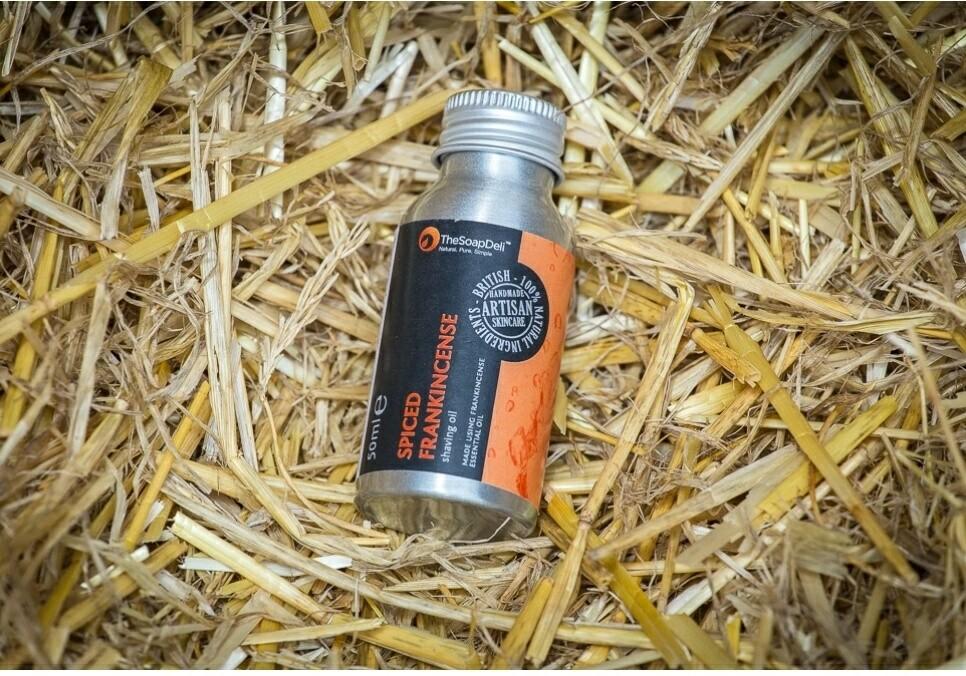 The Soap Deli Spiced Frankincense Shaving Oil