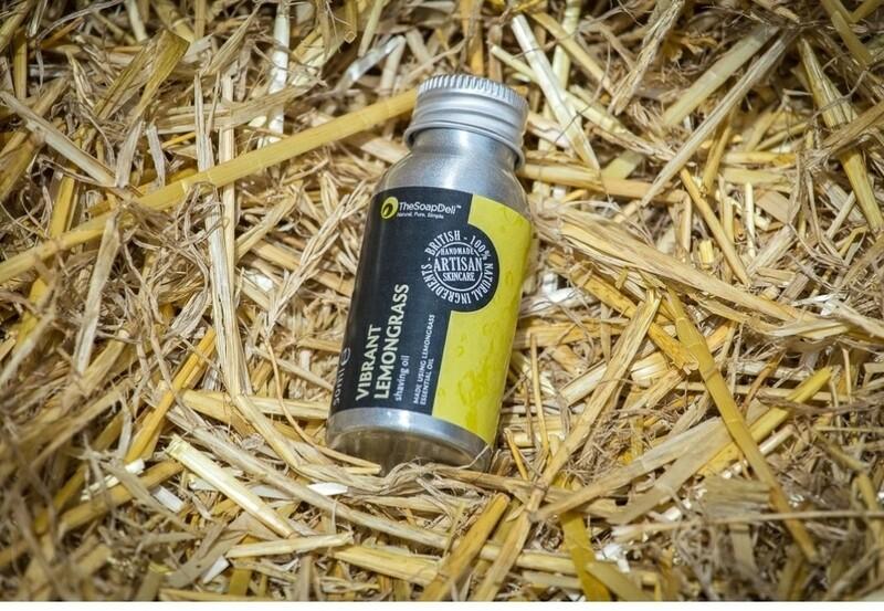 The Soap Deli Vibrant Lemongrass Shaving Oil
