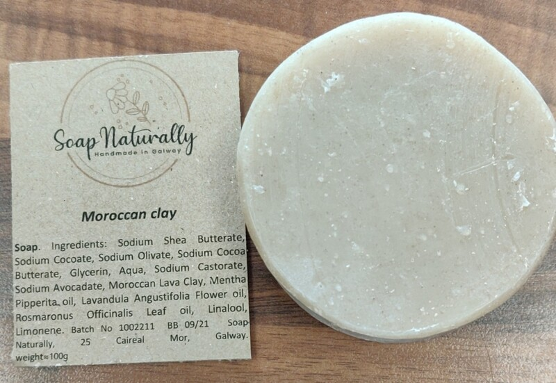 Soap Naturally Shaving Soap (Moroccan Clay)