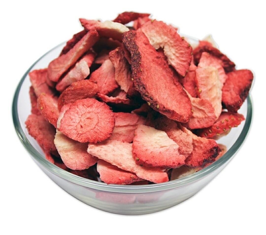 Freeze Dried Strawberry Slices 50g