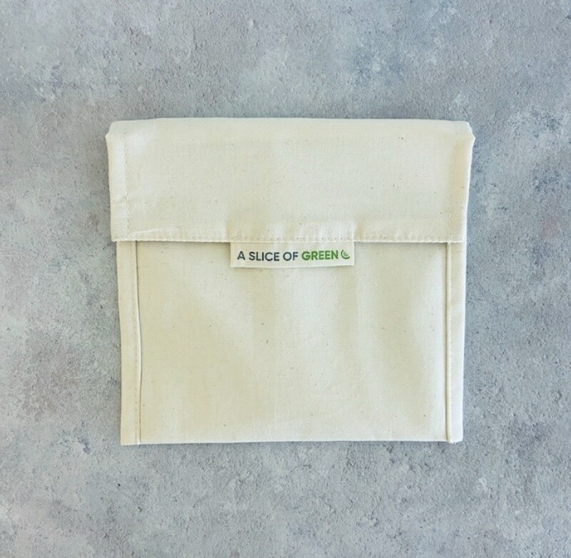 A Slice of Green Organic Cotton Baggie