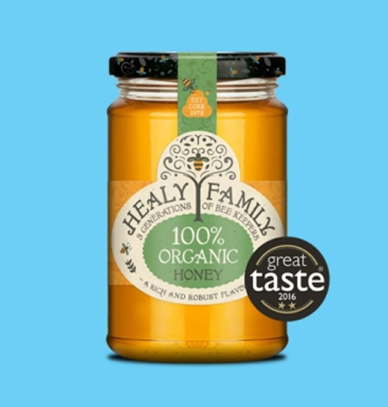 Healys Organic Honey 340g