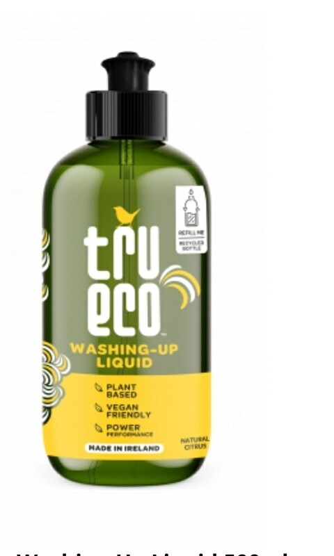 Tru Eco Washing Up Liquid 500ml