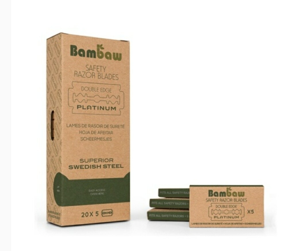 Bambaw 5pk Safety Razor Blades
