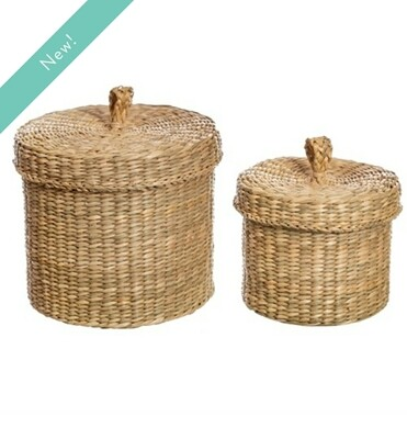 Seagrass baskets set of 2