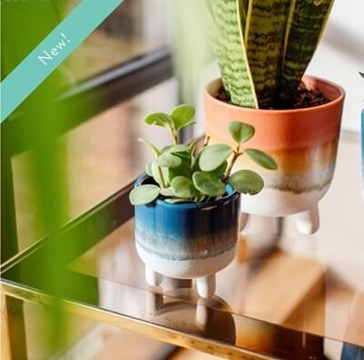 Mojave Mini Blue Planter