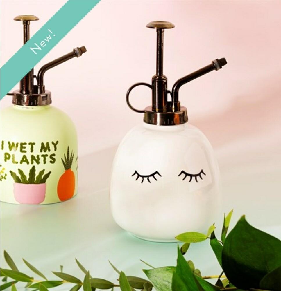 Eyes Shut Ceramic Plant Mister