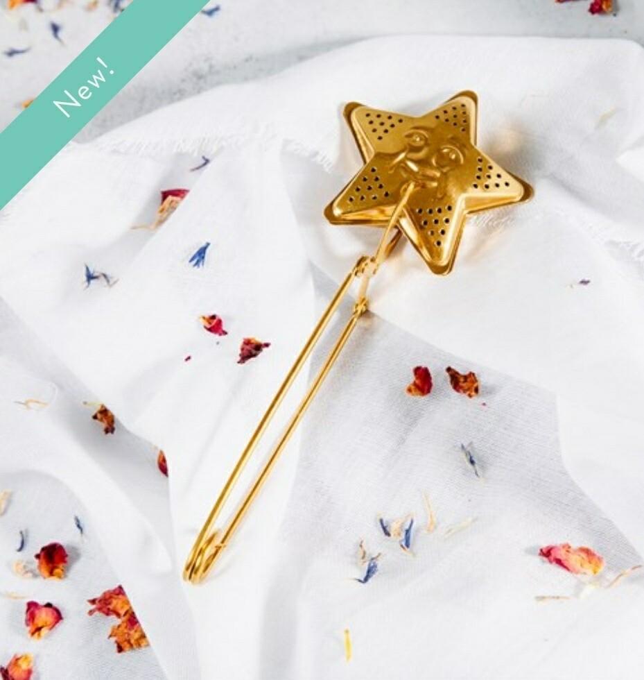 Brass Star Shaped Tea Infuser