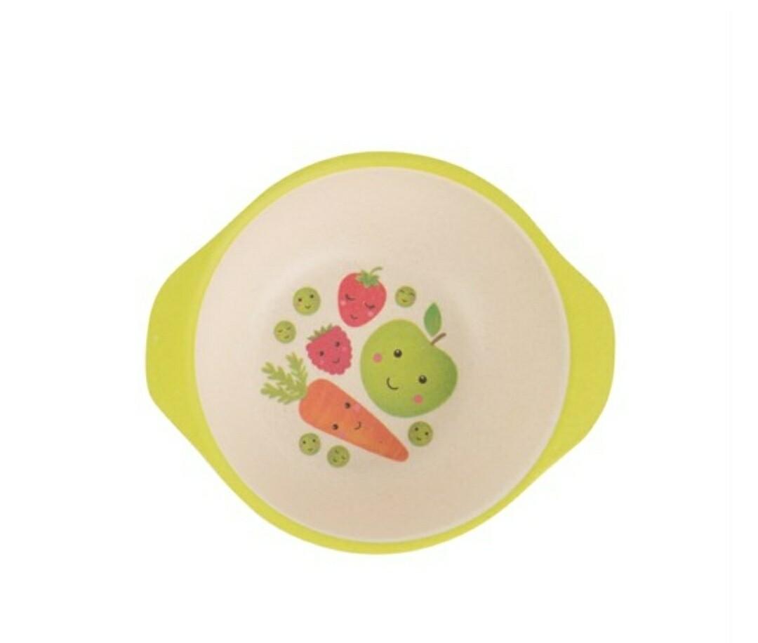 Happy Fruit & Veg Bamboo Bowl