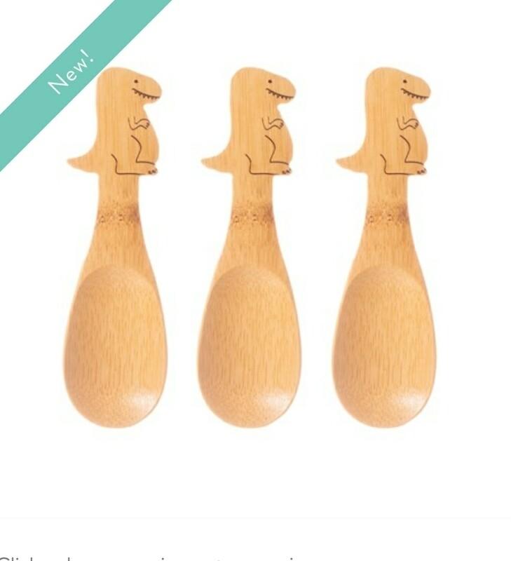 T Rex Spoons Set of 3