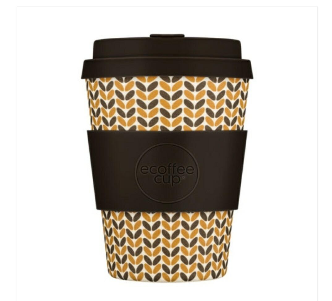 Ecoffee Threadneedle 12oz Coffee Cup