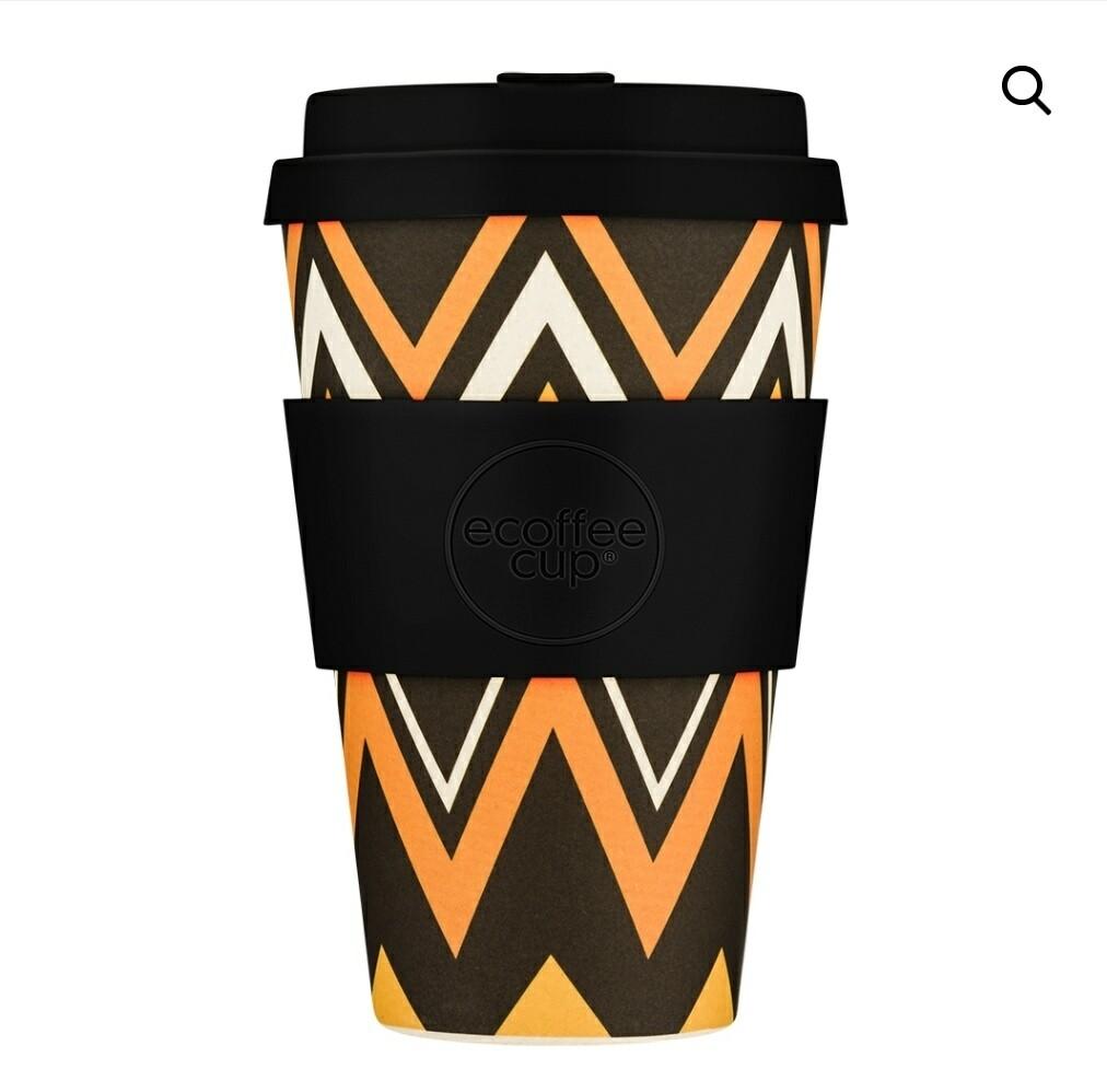 Ecoffee ZigZag 14oz Coffee Cup