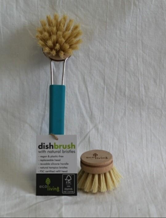 Ecoliving Silicone Handle Dish Brush