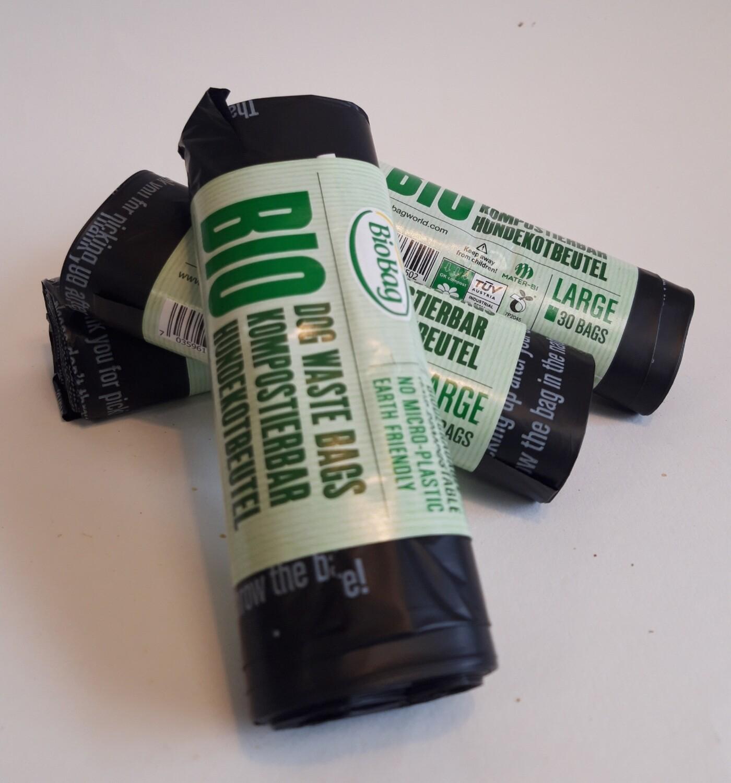 Biobag Dog Waste Bags (Large) 30bags