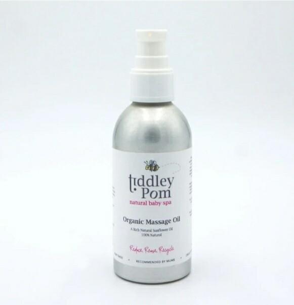 Tiddley Pom Org Massage Oil