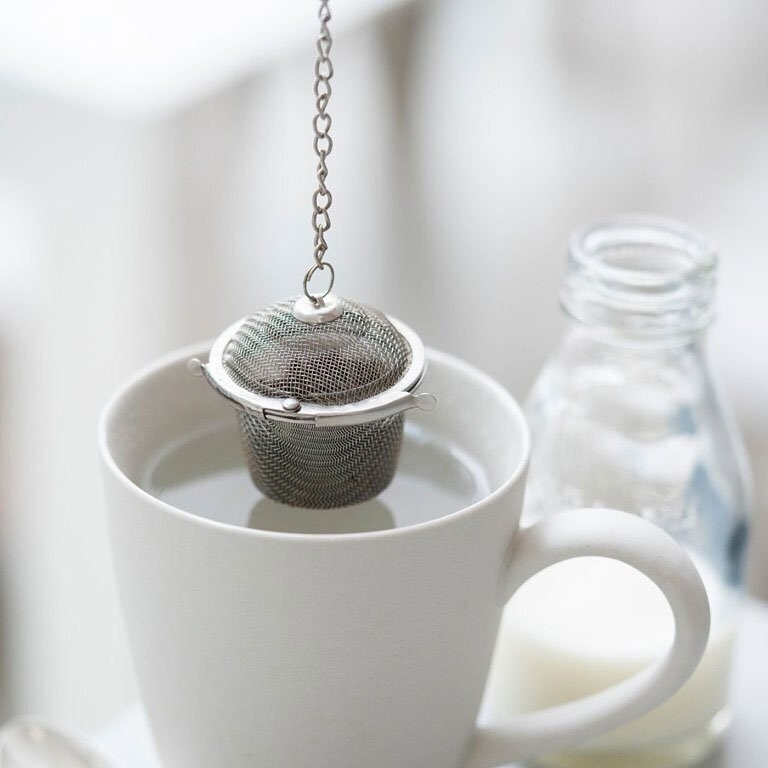 Ecoliving Stainless steel tea basket