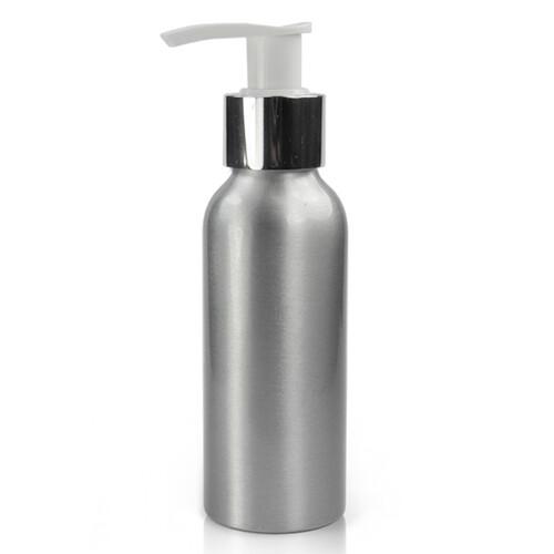 100ml Aluminum Pump Bottle