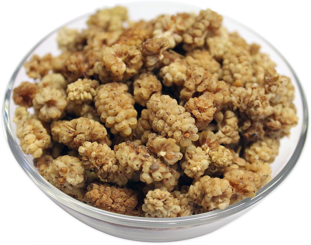 Organic Mulberries White 200g