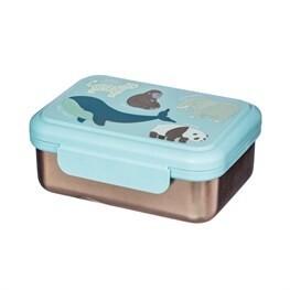 Endangered Animals Metal Lunch Box