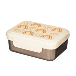 Earth Rainbow Metal Lunch Box