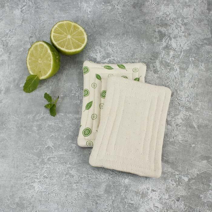 Unsponge Smooth Mint Leaf Pack of Two