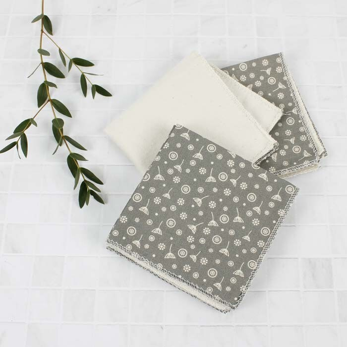 Reusable Cotton Wipes Meadow 5 Pack