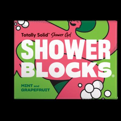 Shower Blocks Mint and Grapefruit