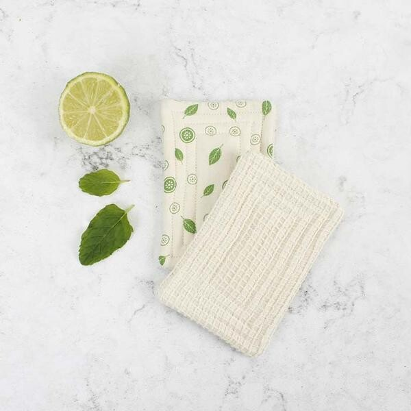 Unsponge Scrub Mint Leaf 2 pack