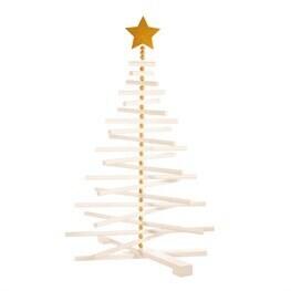White Wood Standing Tree