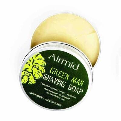 Green Man Shaving Soap