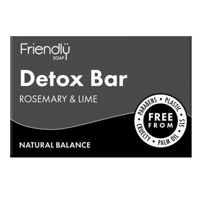 Friendly Soap Detox Bar (Rosemary and Lime)