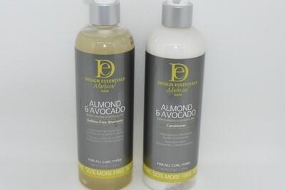 Natural Hair Almond & Avocado