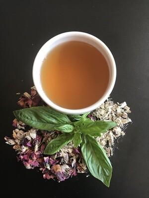 Holy Basil and Rose Tea