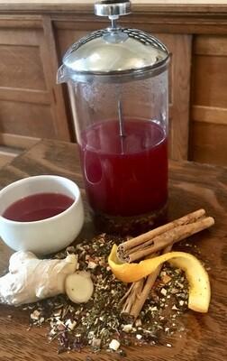 Autumn Hibiscus Tea