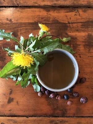Golden Dandelion Tea