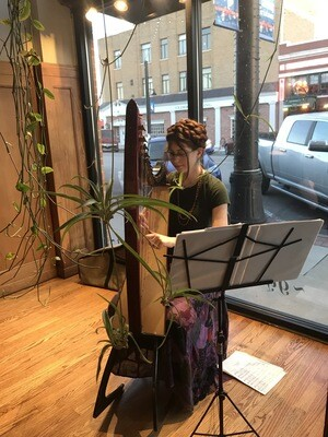 Harpist - Redeemed Strings - Fridays from 4pm - 6pm - FREE